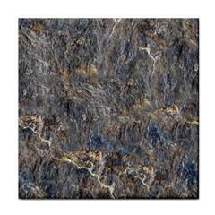 Rusty Stone Face Towel by trendistuff