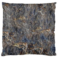 Rusty Stone Large Flano Cushion Cases (one Side)  by trendistuff