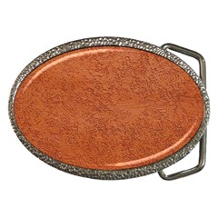Rust Colored Stucco Belt Buckles by trendistuff