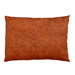 Rust Colored Stucco Pillow Cases (two Sides) by trendistuff