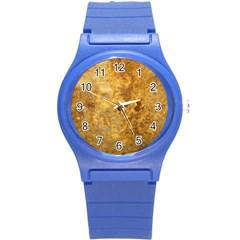 Rosia Montana Round Plastic Sport Watch (s) by trendistuff