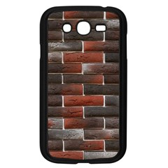 RED AND BLACK BRICK WALL Samsung Galaxy Grand DUOS I9082 Case (Black)