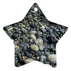 Pebbles Ornament (star)  by trendistuff
