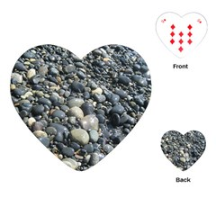 Pebbles Playing Cards (heart)  by trendistuff