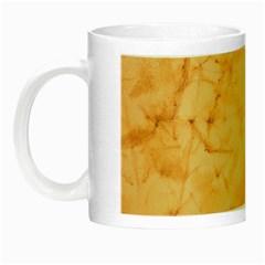 Marble Light Tan Night Luminous Mugs by trendistuff