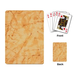Marble Light Tan Playing Card by trendistuff
