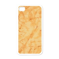 Marble Light Tan Apple Iphone 4 Case (white) by trendistuff