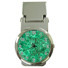 Marble Green Money Clip Watches by trendistuff