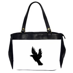Crow Office Handbags (2 Sides)  by JDDesigns