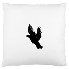 Crow Standard Flano Cushion Cases (two Sides)  by JDDesigns