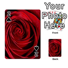 Beautifully Red Playing Cards 54 Designs  by timelessartoncanvas