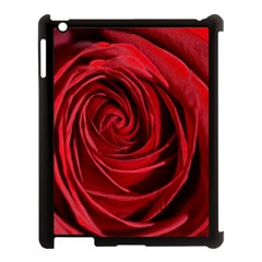Beautifully Red Apple Ipad 3/4 Case (black) by timelessartoncanvas