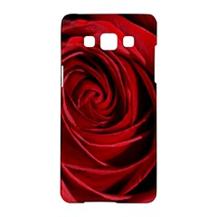 Beautifully Red Samsung Galaxy A5 Hardshell Case  by timelessartoncanvas