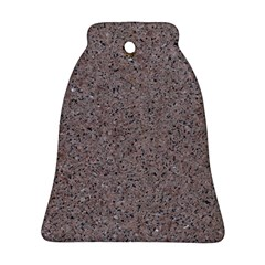 Granite Red Grey Bell Ornament (2 Sides) by trendistuff