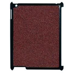 Granite Red 1 Apple Ipad 2 Case (black) by trendistuff