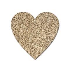 Granite Brown 3 Heart Magnet by trendistuff