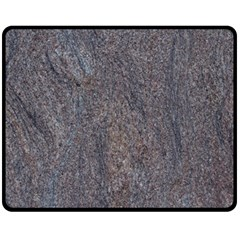 Granite Blue Brown Fleece Blanket (medium)  by trendistuff