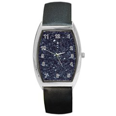 Granite Blue Black 1 Barrel Metal Watches by trendistuff