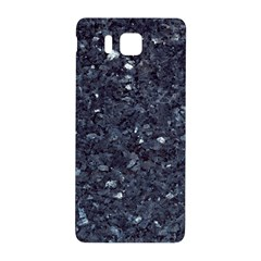 Granite Blue Black 1 Samsung Galaxy Alpha Hardshell Back Case by trendistuff