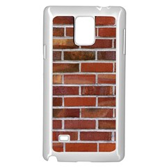 COLORFUL BRICK WALL Samsung Galaxy Note 4 Case (White) by trendistuff