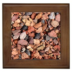 Colored Rocks Framed Tiles by trendistuff