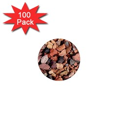 COLORED ROCKS 1  Mini Magnets (100 pack)  by trendistuff