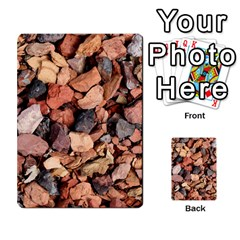 Colored Rocks Multi Purpose Cards (rectangle)  by trendistuff