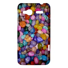 COLORED PEBBLES HTC Radar Hardshell Case  by trendistuff