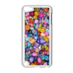 COLORED PEBBLES Apple iPod Touch 5 Case (White) by trendistuff