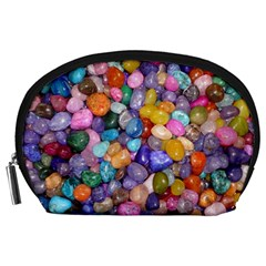 Colored Pebbles Accessory Pouches (large)  by trendistuff