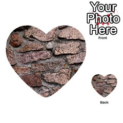 CEMENTED ROCKS Multi-purpose Cards (Heart)  by trendistuff