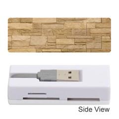 Block Wall 2 Memory Card Reader (stick)  by trendistuff