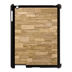 Block Wall 2 Apple Ipad 3/4 Case (black) by trendistuff