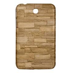 Block Wall 2 Samsung Galaxy Tab 3 (7 ) P3200 Hardshell Case  by trendistuff