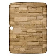 Block Wall 2 Samsung Galaxy Tab 3 (10 1 ) P5200 Hardshell Case  by trendistuff