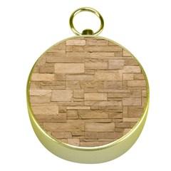 Block Wall 2 Gold Compasses by trendistuff