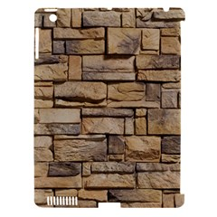 Block Wall 1 Apple Ipad 3/4 Hardshell Case (compatible With Smart Cover) by trendistuff