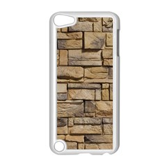 Block Wall 1 Apple Ipod Touch 5 Case (white) by trendistuff