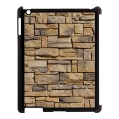 Block Wall 1 Apple Ipad 3/4 Case (black) by trendistuff