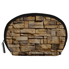 Block Wall 1 Accessory Pouches (large)  by trendistuff
