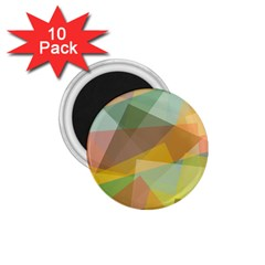 Fading Shapes 1 75  Magnet (10 Pack)  by LalyLauraFLM