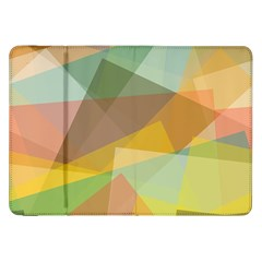 Fading Shapes Samsung Galaxy Tab 8 9  P7300 Flip Case by LalyLauraFLM