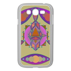 Mandala Samsung Galaxy Grand Duos I9082 Case (white) by Valeryt