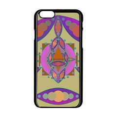 Mandala Apple iPhone 6/6S Black Enamel Case by Valeryt