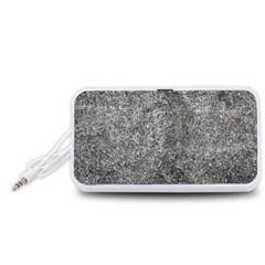 BLACK MICA Portable Speaker (White)  by trendistuff