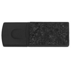 Black Marble Usb Flash Drive Rectangular (4 Gb)  by trendistuff