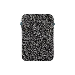 Black Gravel Apple Ipad Mini Protective Soft Cases by trendistuff