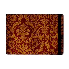 Royal Red And Gold Apple Ipad Mini Flip Case by trendistuff