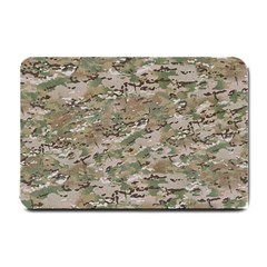 Camo Woodland Faded Small Doormat  by trendistuff
