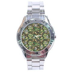 CAMO WOODLAND Stainless Steel Men s Watch